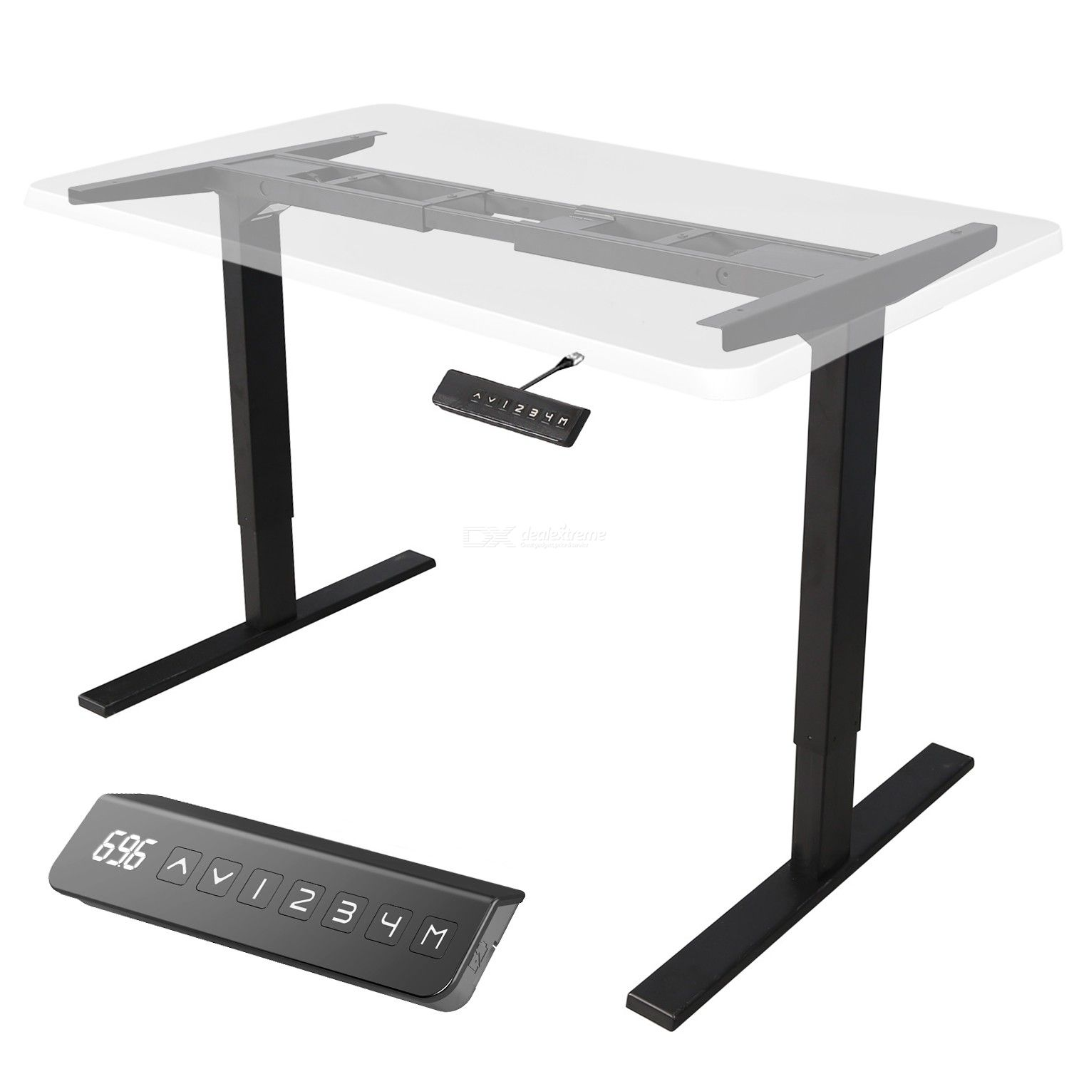 MAIDESITE Frame Electric Height Adjustable Table Frame ONLY Spain, Germany and France