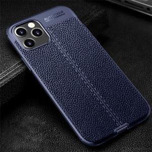 Phone Case Shockproof Dirt-resistant Anti-knock Lychee Pattern Scratch Resistant For IPhone 12