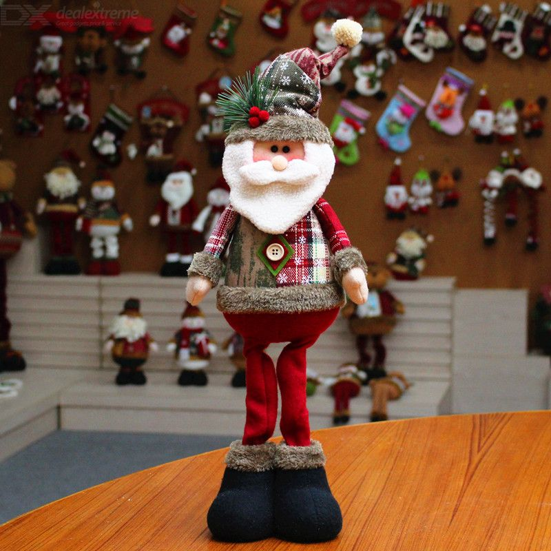Christmas Decoration Santa Claus Christmas Decoration Dolls Christmas Elk Window Christmas Supplies