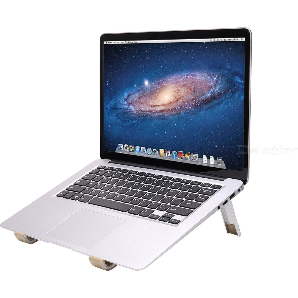 Folding Storage Aluminium Alloy Laptop Portable Computer Stand