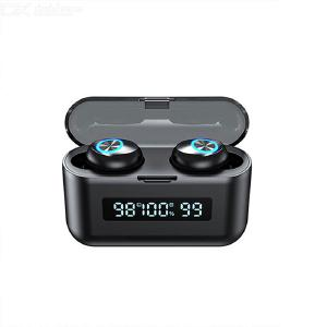 X35 TWS Headphone Wireless Bluetooth Earbuds Waterproof Sport Headphone HiFi Stereo Sound Earbuds Touch Control