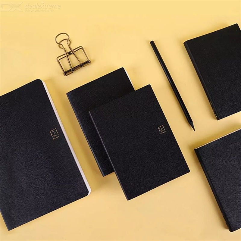 Kinbor 2021 Annual Plan Notebook PU Leather Copybook Daily Memos Notebook Office School Supplies