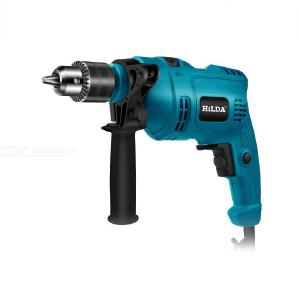 HILDA TD-13 Electric Drill 135cm Cable Steel Rotating Soft Rubber Handle Flat Drill/impact Drill Mode