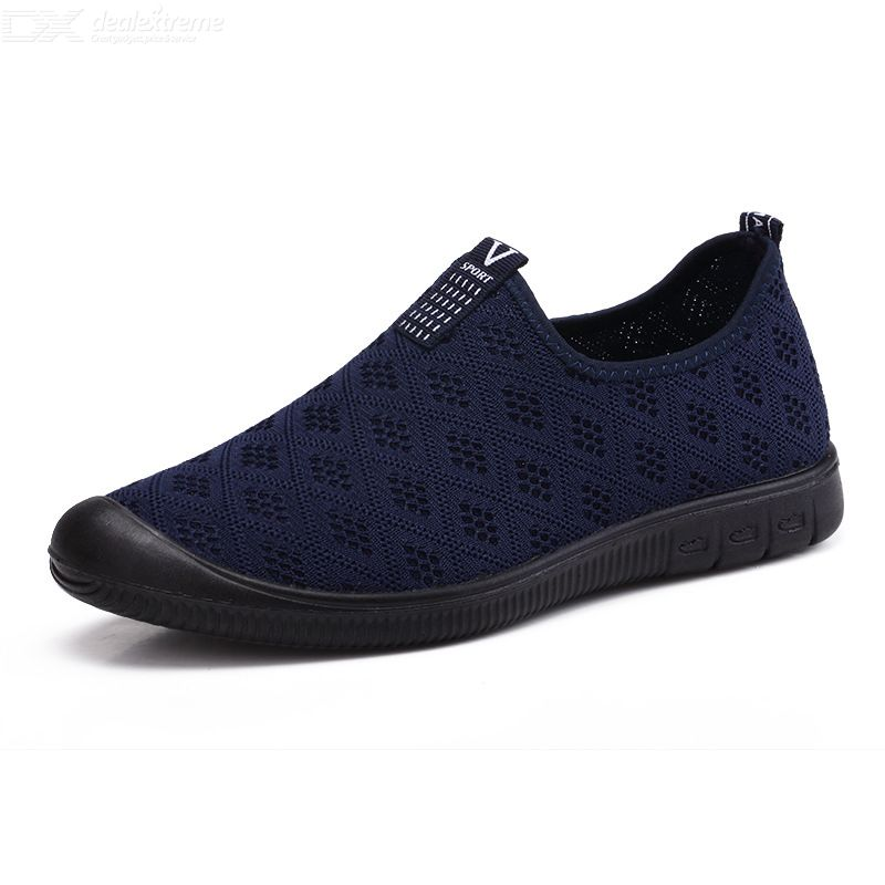 Mesh Shoes Breathable Mesh Sneakers One-step Sport Shoes Breathable Sneakers