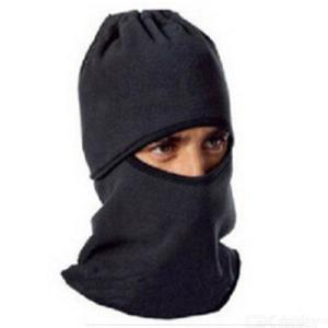 Polar fleece liner cycling masks draw string protection of outside ski face cap