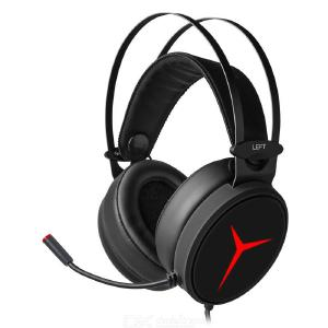 Lenovo Star Y360 Professional Gaming Headset With Microphone 7.1 Channel Surround Sound Headset With LED Breathing Light