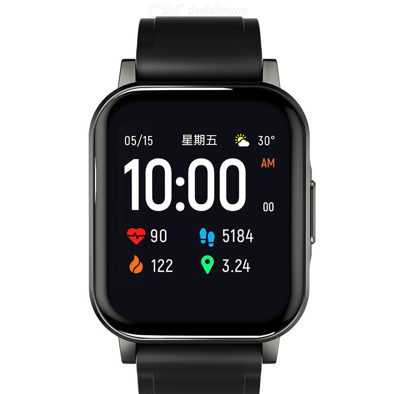 Haylou smart watch 2 LS02 12 sport modes /Real-time heart rate monitoring 20-day longevity / Sleep intelligence monitoring 1.4 i