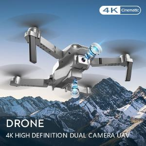 S602 Mini Drone Foldable Portable HD Camera Air Pressure Fixed Height 2.4G Remote Control (single Electric Version)