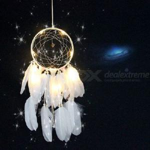 Creative Dream Catcher Lights Bedroom Living Room Decorations LED Romantic Girl Room Ornaments Hanging Decorations