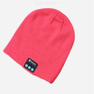 Bluetooth Wireless Headset Cap Calling Music Pullover Cap Winter Cap Headphone Fashion Knitted Earphone Hat  Stereo Hat