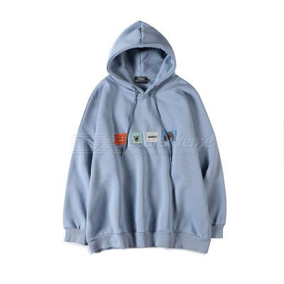2020 Winter Hooded Pullover Korean Style Oversize Sweat Shirts Loose Hoodies Drawstring Casual Sweat Shirts