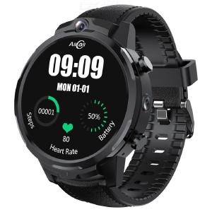 AllCall Awatch GT2 4G 3 GB 32 GB Smart Horloge Mannen GPS Face ID Camera 1080mAh Waterdichte Hartslag Android SmartWatch Telefoon