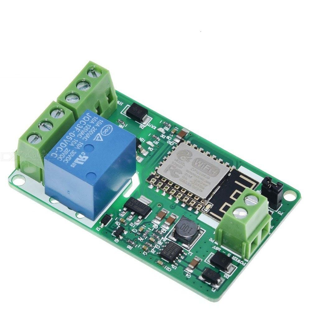 ESP8266 Relay Module 10A 220V Network Relay WIFI Module Input DC 7V30V 4 Layers Board TVS Input Automatic Protection