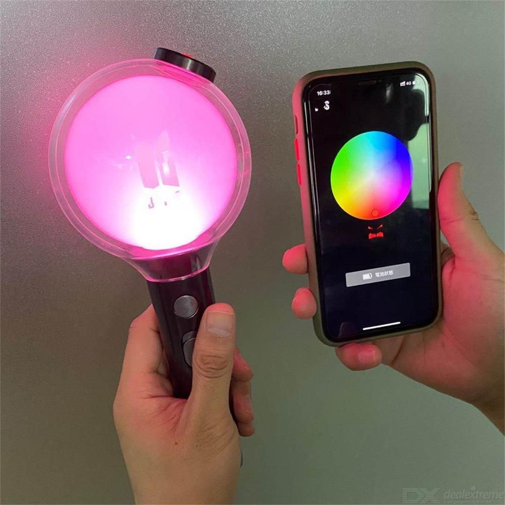 BTS Map OF THE SOUL Special Edition Glowing Light Stick Concert Entertainment Light APP Bluetooth Glowing Stick