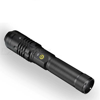 XHP50 Strong Light Flashlight Aluminum Alloy LED Torch USB Rechargeable Zoom Flashlight Outdoor Camping Flashlight