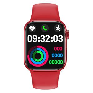 HW12 full screen smart Bracelet Heart Rate and blood pressure monitoring watch 3dui knob movement Bluetooth call