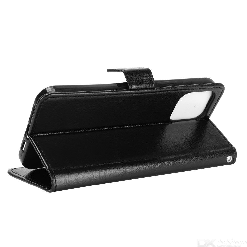 ASLING PU Leather Cover with Holder Wallet Card Storage Phone Case for iPhone 12 Pro Max 6.7 inch