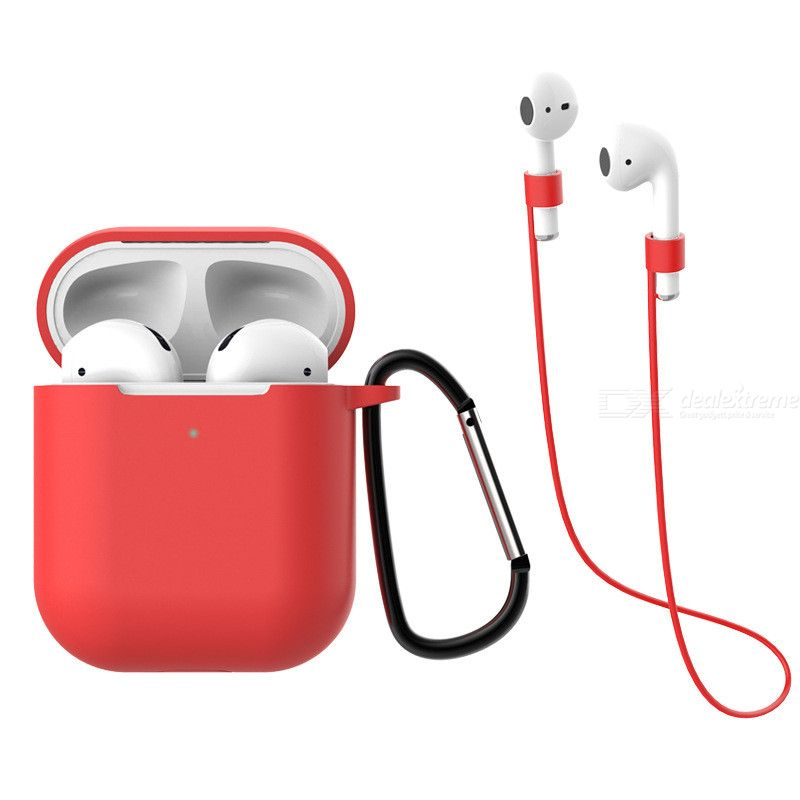 3 Pcs/Set AirPods Cover for Apple AirPods with Charging Case (2019) / with Wireless Charging Case (2019)