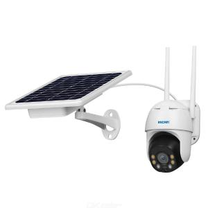 ESCAM QF130 1080P PT WIFI  PIR Alarm IP Camera With Solar Panel Full Color Night Vision Two Way Audio IP66 Without Battery
