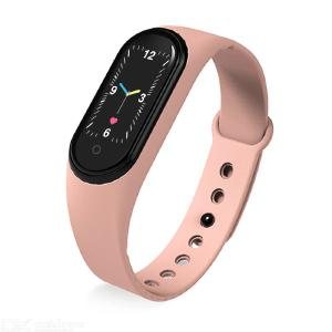 New M5 IP68 Smart Bracelet, Waterproof Smartwatch, Bluetooth Call, Music Play, Activity Tracking, Smartwatch Band, Heart Rate Mo
