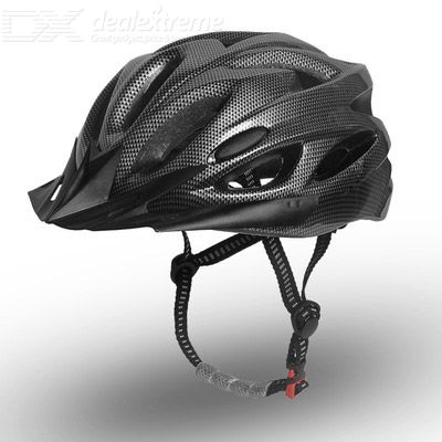 SOB-QX10001 Bike Helmet Breathable Fall Resistant Collision Resistant 18-hole Design With Adjustable Head Elastic Band