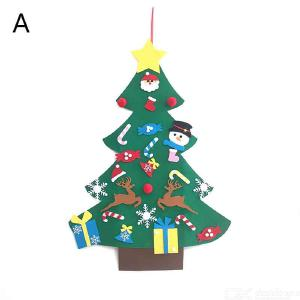 Christmas Tree Diy Christmas Tree Decoration Non-woven Christmas Tree Hat Felt Christmas Tree