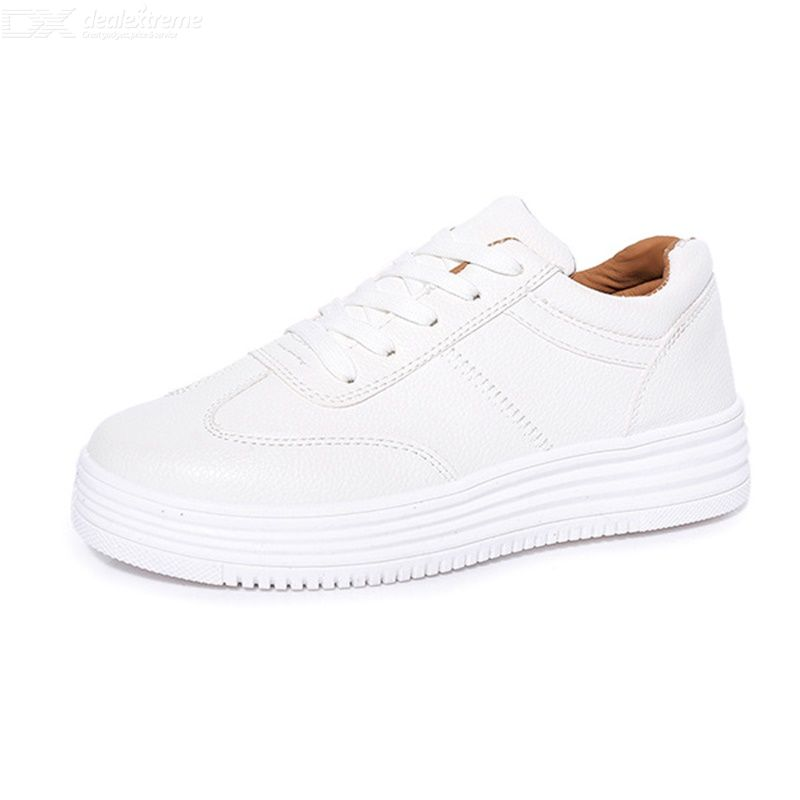 Fashion White Shoes Korean Style Shoes For Students Casual Skateboarding Shoes S