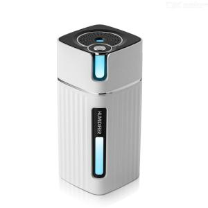 Humidifiers Mini Portable Mute USB Interface Power Supply Charging 300ml Water Tank Capacity With Night Light