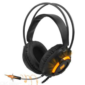 AJAZZ AX120 Gaming Headset Head-mounted Headphone Fashion Stereo Headphone Noise Cancelling