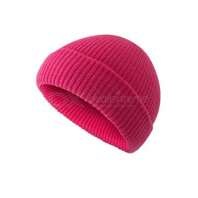 DeRuiLaDy Winter Casual Hip Hop Knitted Hat Skullcap Women Hat Ribbed Baggy Melon Hat Beanies Skullies For Men Bonnets Unisex