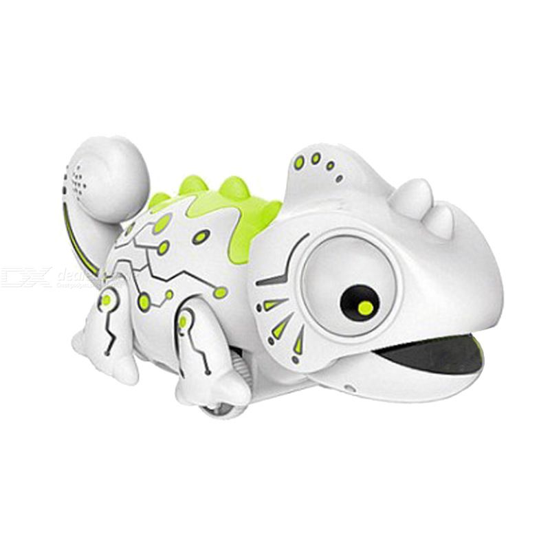 Remote Control Chameleon Toys 2.4Ghz RC Animals Model Pet Model Smart Toy Intelligent Lizard Robot For Children Gifts For Boy