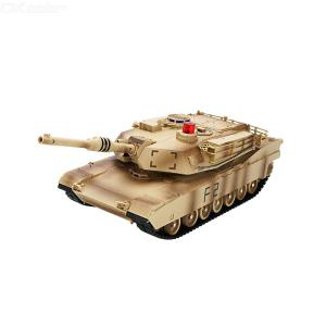 JJRC Q90 Simulation 2.4G Remote Control Tank Toys Battle Tank Rotary Military Car Toy With Sound Effect
