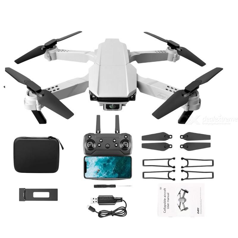 YLRC S62 Foldable Drone Portable 4K HD Camera 4-axis Foldable Body Design With Six-axis Gyroscope (Single Electric Version)