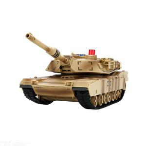 JJRC Q90 Simulation 2.4G Remote Control Tank Toys Battle Tank Rotary Military Car Toy With Sound Effect(Multi-battery Version)