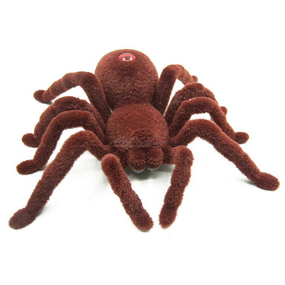 Infrared Remote Control Spider Scary Toy Halloween Tricky Toy High Simulation Spider Toy