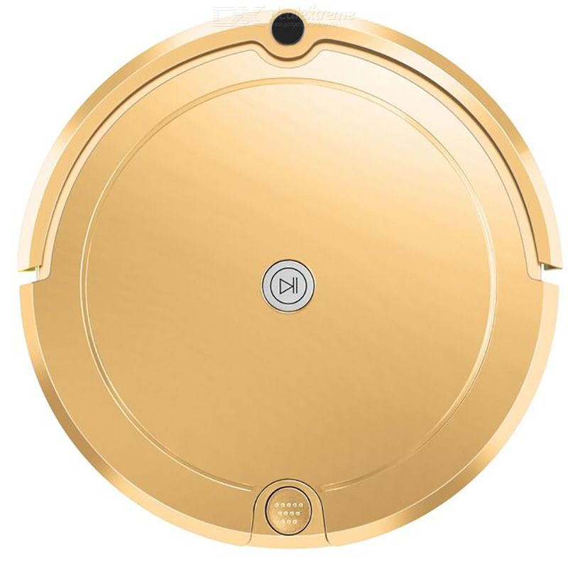Robot Vacuum Cleaners 150ml Water Tank Double-sided Brush Four Cleaning Modes With 1200pa Hurricane-like High Suction