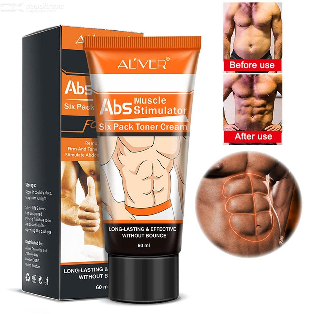 ALIVER abdominal muscle cream fitness shaping firming care abdominal muscle oil cream