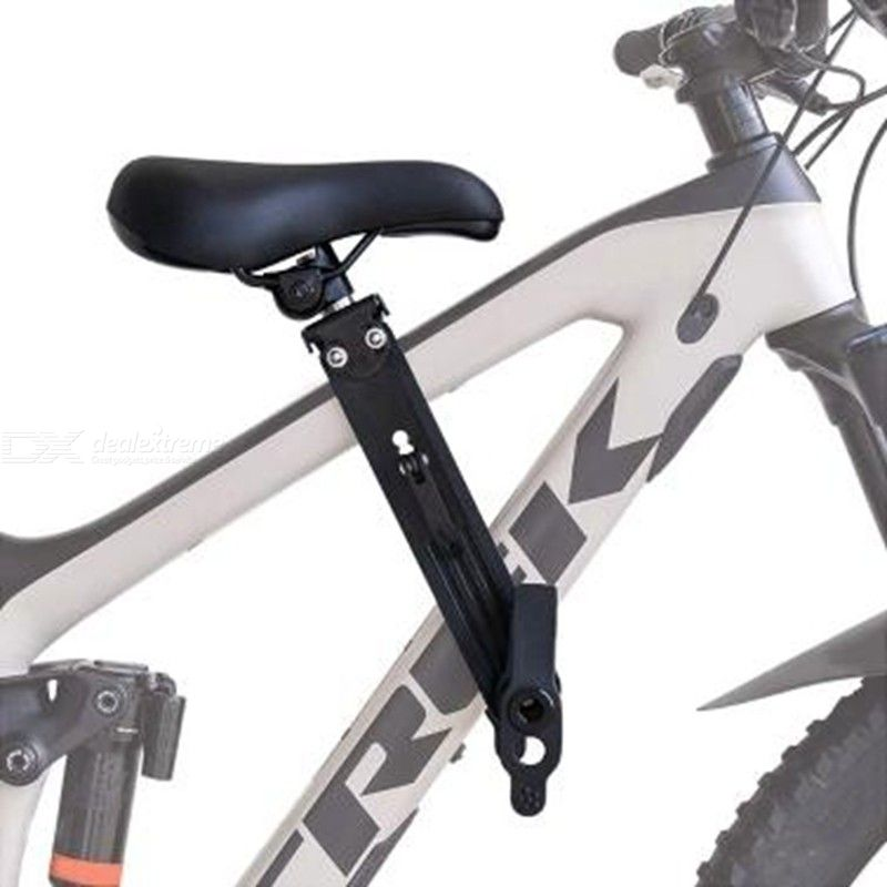 Child Bike Seat Applicable For All Types Adult Mountain Bike Front-Loading Large Bearing Capacity Easy Installation Bike Seat
