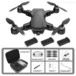 HR ICMERA 3 Foldable Drone Portable GPS 6K HD Dual Camera Wide-angle With LED Light (Multi-electric Version)