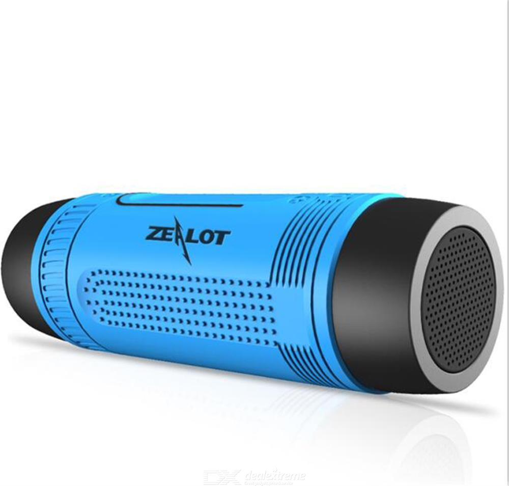 Zealot S1 Portable Bluetooth Speaker Wireless Bicycle Speaker  Waterproof Power Bank Speaker Support TF Card