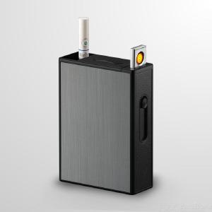 Electronic Cigarette Case Durable Waterproof With USB Lighter Built-in USB Interface
