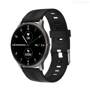 LW11 smart watch round Bluetooth pairing smart bracelet fashion sports IP68 waterproof color screen step heart rate