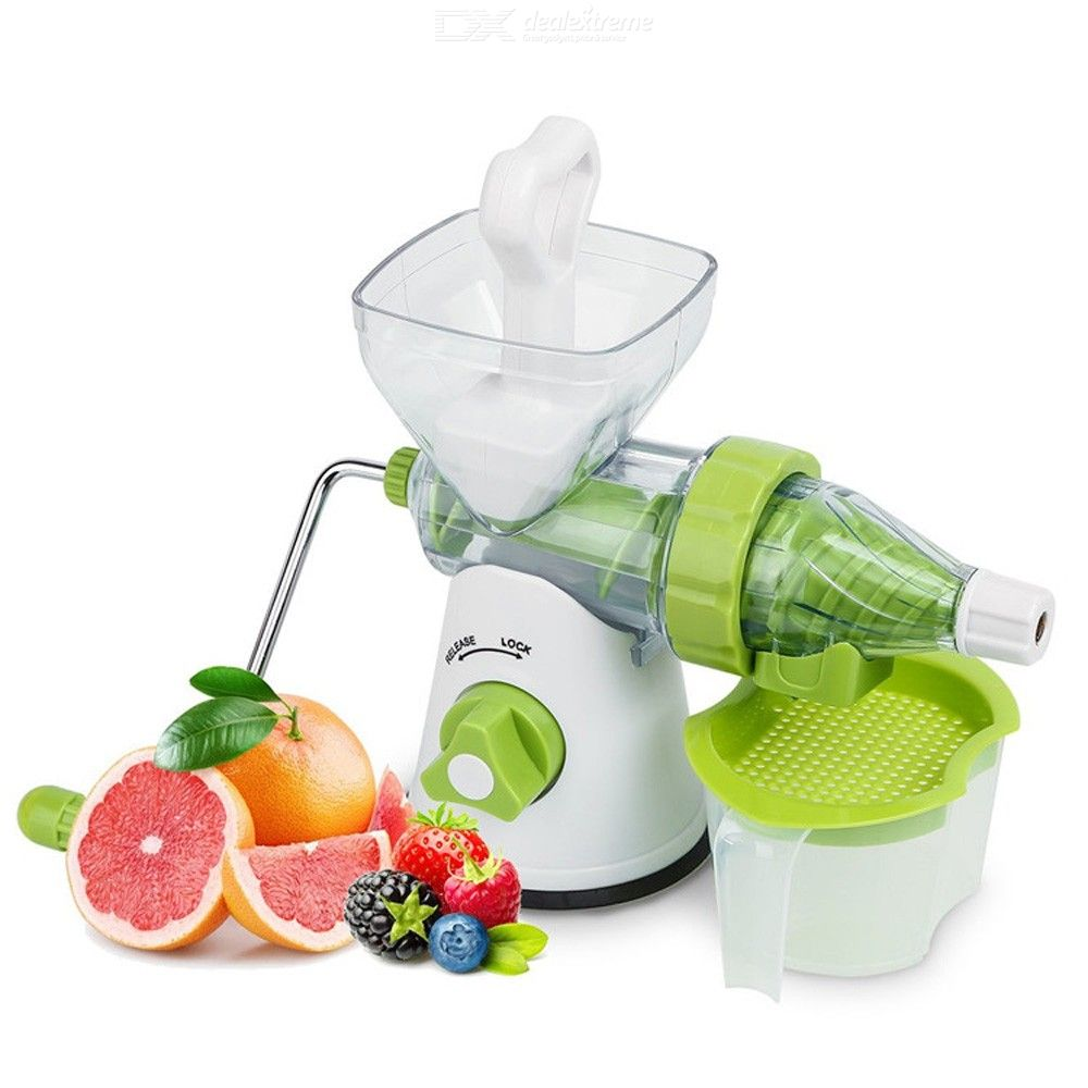 Home Manual Juicer Hand Crank Health Juicer Kitchen Fruit Squeezer With Long Handle Apple Orange Juicer