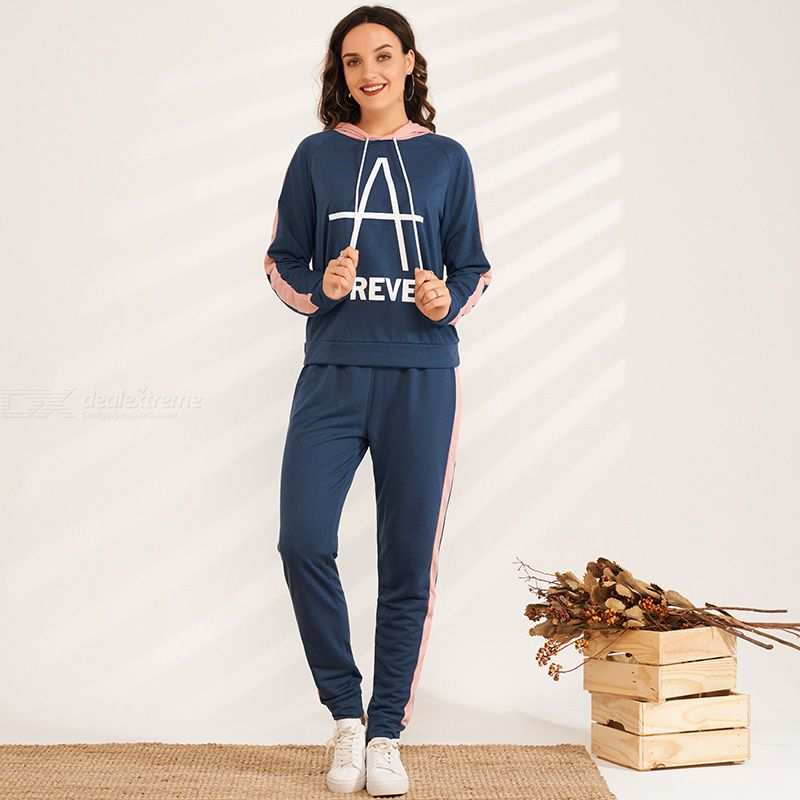 Spring Autumn Loose Average Elasticity Joint Street Style Suit