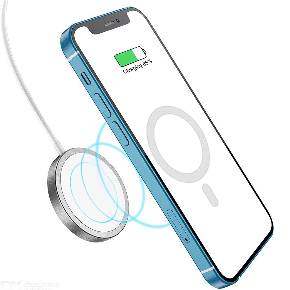 15W QI Magnetic Auto Aligned Fast Charging Wireless Charger Compatible for iPhone 12 Series
