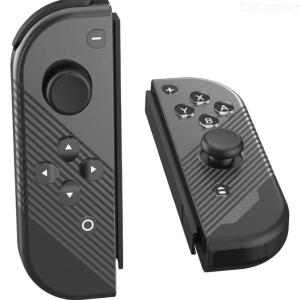 Switch Simple Small Left  Right Handle Gamepad Crystal Button Housing Shell Case Controller For Nintendo Switch Game Console