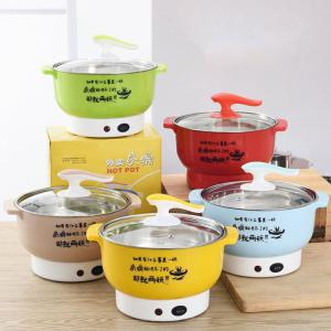 Multifunctional electric cooker Stainless steel Plastic Home appliances Double firepower Anti-dry function Hot pot