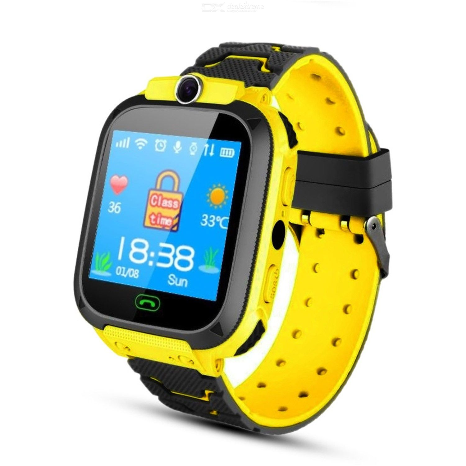 Children telephone watch Z5 touch screen GPS intelligent positioning waterproof telephone watch