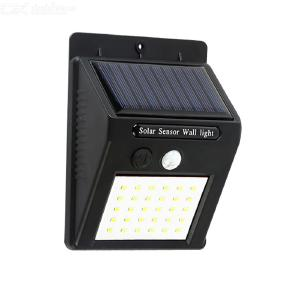 Solar Sensor Outdoor Garden Yard Light Household Human Body Induction Lights Countryside Road Light Waterproof Wall Lights