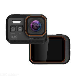 4K Ultra HD Camera Waterproof Camera WiFi Action Camera Underwater Video Camera-Black